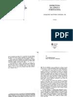 A Classificação Dos Vocábulos Formais, De Joaquim Mattoso Câmara Júnior