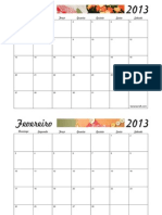 Calendar i Omens Al 2013