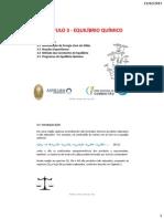 FSC Cap 3 Equilibrio Quimico