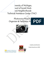 Photovoice Manual for Youth Projects