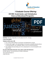 ED808 Course Poster