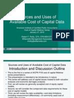 Cost of Capital Webinar 0110