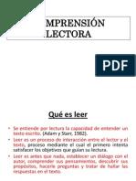 5. COMPRENSIÓN LECTORA