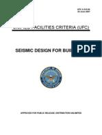 UFC 48466108 Seismic Design for Buildings