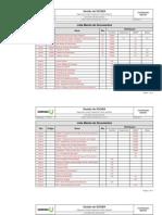 Lista Mestra de Documentos Rev00 17-10-2010