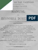 Manual de Economia Domestica Antigua