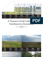 A Transect of Salt Lake City