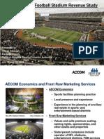 Oakland Raiders New Stadium Feasibility Study