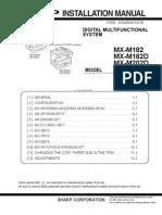Manual de Instalação - MXM202D-232D