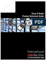 Audio Product Selection Guide