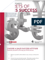 Secrets of Sales Success