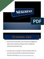 Lecture 9b Negligence & Nervous Shock