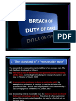 Lecture 9C Breach of Duty of Care (1)