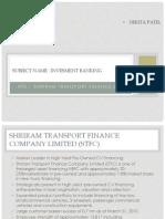 Shriram Transport Finance Co