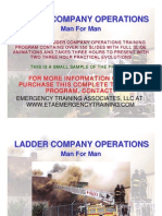Ladder Company Operation