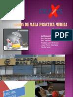 Casos de Mala Practica Medica