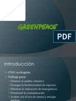 Greenpeace presentación