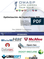 Optimizacion de SQLi