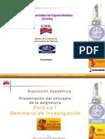 Formato Presentacion Politica 1X Seminario 2009 A
