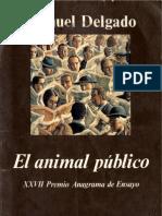 El Animal Publico[Manuel Delgado][PDF]