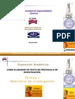 Formato Presentacion Protocolo InvestigacionX