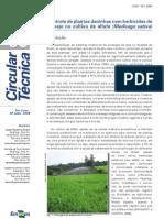 Controle de Plantas Daninhas Com Herbicidas de Manejo C 58