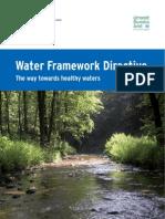 Broschuere Wasserrahmenrichtlinie en Bf