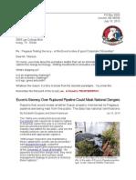 Letter to Rex Tillerson 13-07-16 Pegasus Secrecy