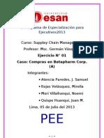 Caso 1 - Betapharm