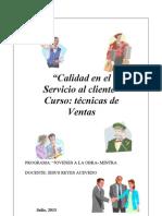 38961402 Calidad en El Servicio Al Cliente Manual