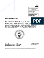 s1027cn1 Hazard Categorization and Analysis Techniques