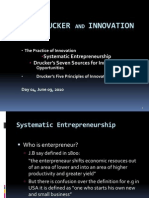 Day 03- Peter Drucker and Innovation