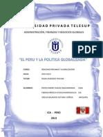 Trabajo Grupal Final - El Peru y La Politica Globalizada