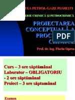 1_Proiectarea Conceptuala a Proceselor Chimice_PCPC