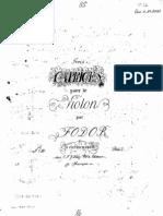 Fodor - 3 Caprices