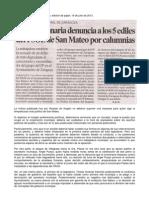 2013-07-16 La Funcionaria Eva Paesa Denuncia a Los Concejales Socialistas