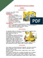 Manual de Seguridad Para Excavadoras