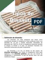 Tipos de Dinamita