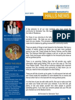 Halls News Issue Four 2013