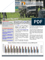 Defence for Children International-Palestine's monthly bulletin on detention -  - Issue 41 - May 2013