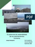 Potencial de Sostenibilidad Del Asentamiento Humano