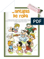 CANTIGAS FOLCLÓRICAS MAURÍCIO DE SOUZA