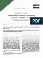 ISO 9000 y la CMM