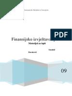 skripta izvještavanje Finansijsko