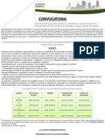 CONVOCATORIA Administrador General