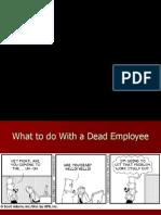 Dead Worker, Employee Comic