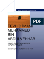 Tevhid Imami Muhammed bin AbdulVehhab