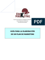guía para la elaboración de un plan de marketing
