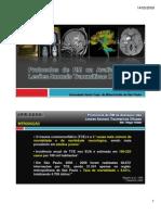 RM na Avaliação das Lesões Axonais Difusas (LAD) - Thiago Fedele