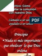 Levítico santidad practica X IBE Callao